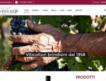 Realizzazione sito web E-commerce Cantine Risveglio di Brindisi