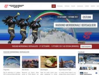 Realizzazione sito web responsive per il Raduno Bersaglieri Sud Italia ad Ostuni (Brindisi)