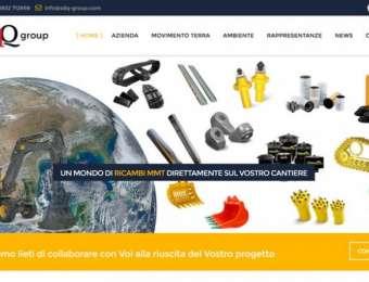 Realizzazione sito web responsive SdQ Group di Novoli (Lecce)
