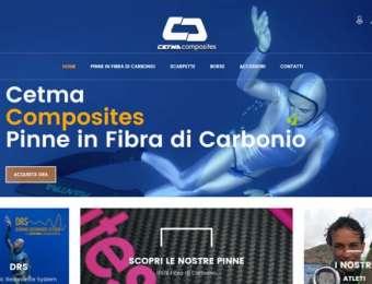 Creazione sito web E-commerce Cetma Composites di Brindisi