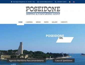 Realizzazione sito web responsive Poseidone Srl di Brindisi