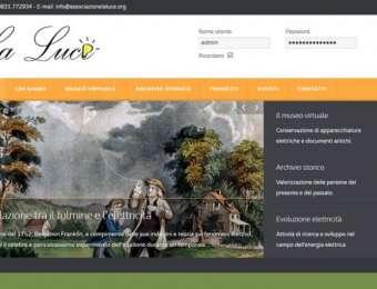 Realizzazione sito web Associazione La Luce di Mesagne (Brindisi)
