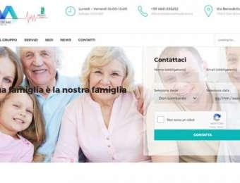 Creazione sito web Residenze Medicare di San Donaci (Brindisi)