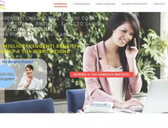 Realizzazione sito web responsive Studio Luna Cartomanzia di Brindisi